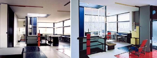 Gerrit Rietveld - Maison Schroder intérieur | d e s t i l j ...
