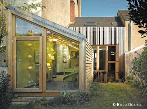 Villa deco flashback - Extension cuisine sur jardin ...